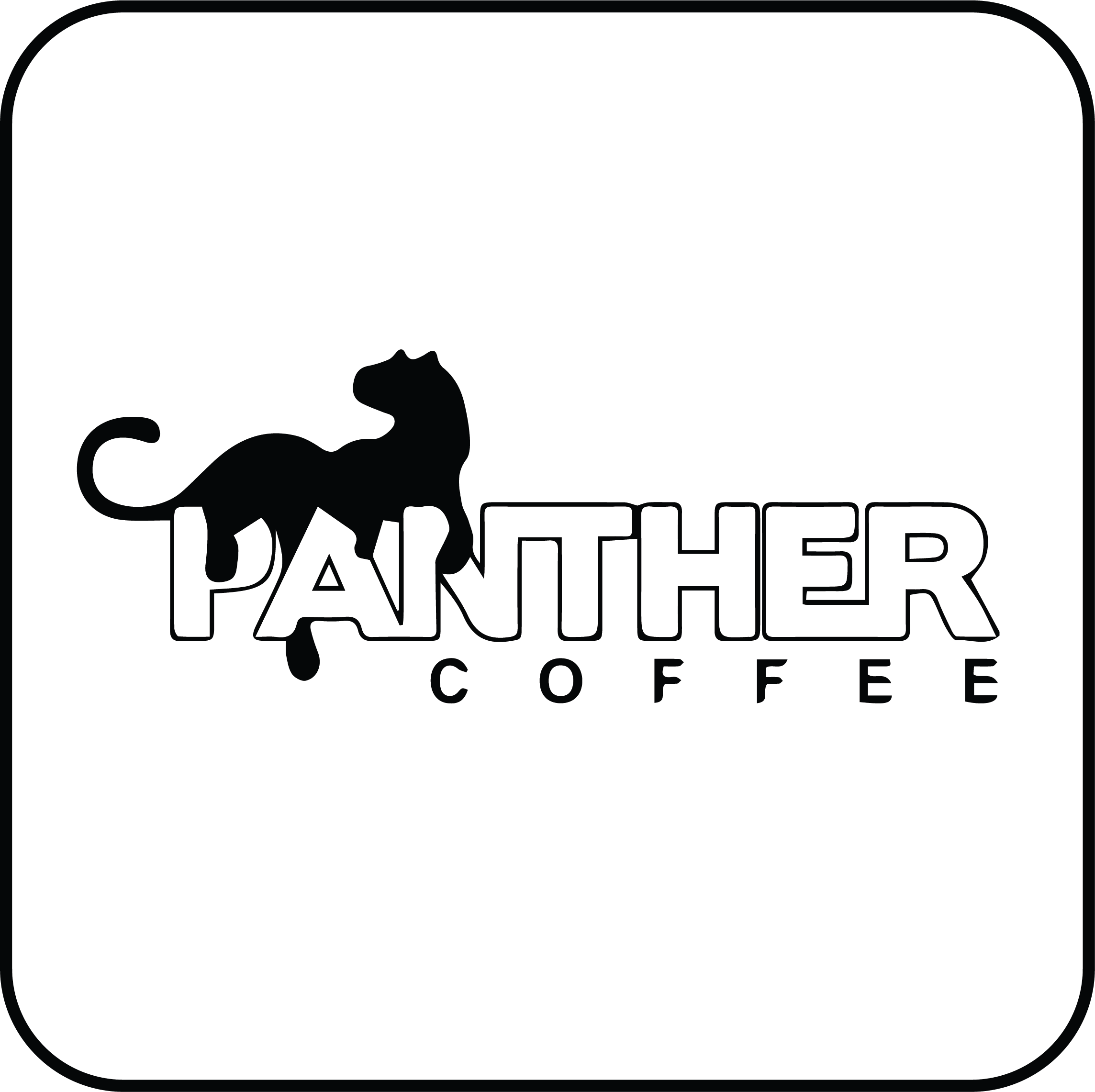 panther coffee logo